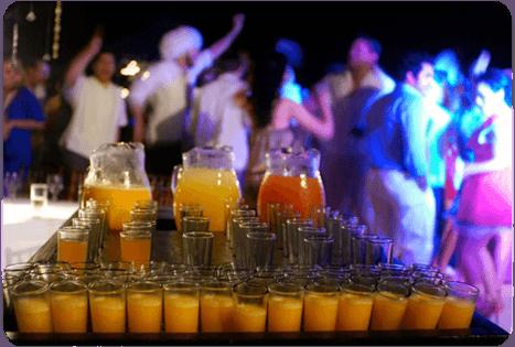 Bebidas. Caty Gomez Wedding Planner Acapulco