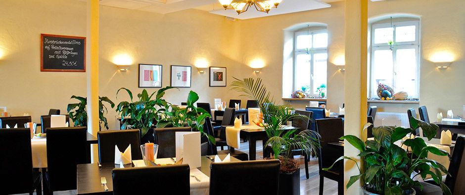 Beispiel: Restaurant, Foto: Badischer Hof Seckenheim.