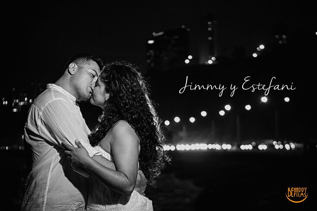 Estefani y Jimmy