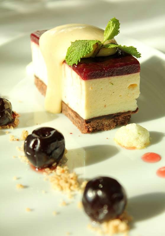 Beispiel: Dessert, Le Méridien Stuttgart.