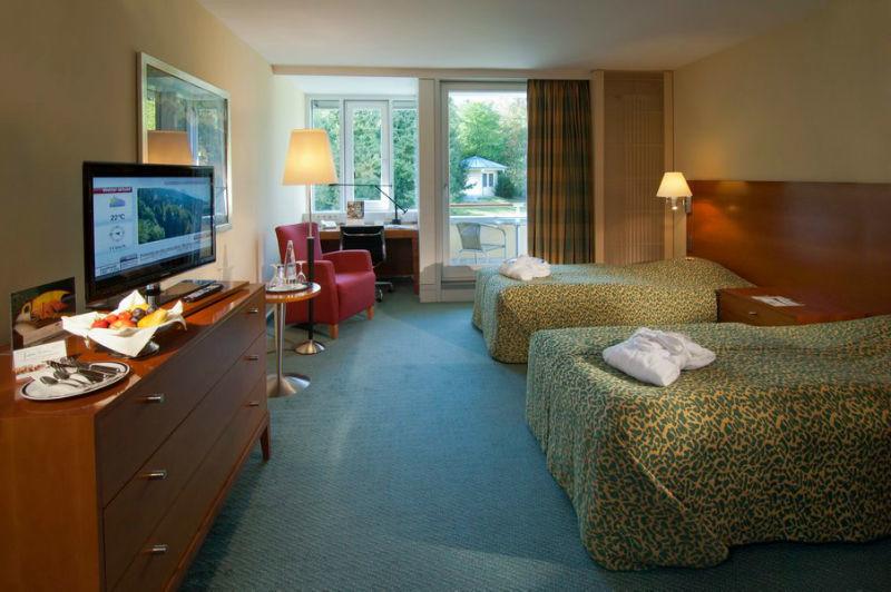 Beispiel: Zimmer, Foto: Hotel Residence Starnberger See.