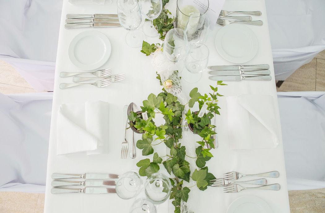 Beispiel: Tischdekoration, Foto: LovelyEvents.