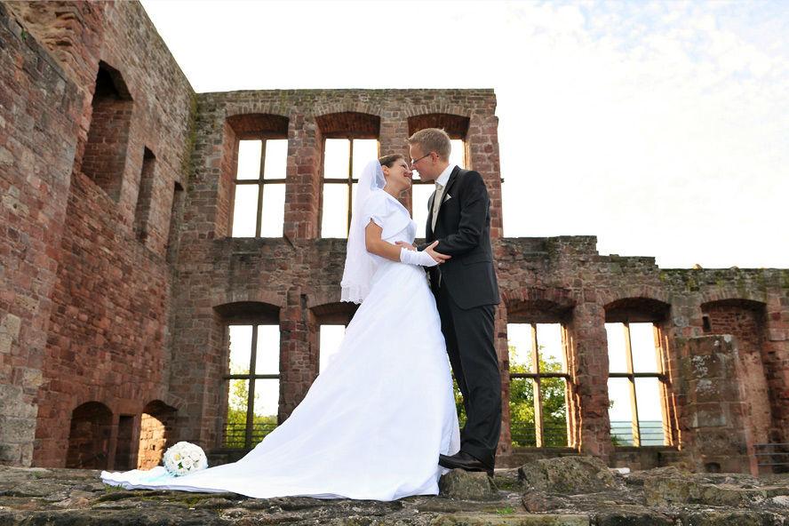Brautpaarshooting Burg Nideggen
