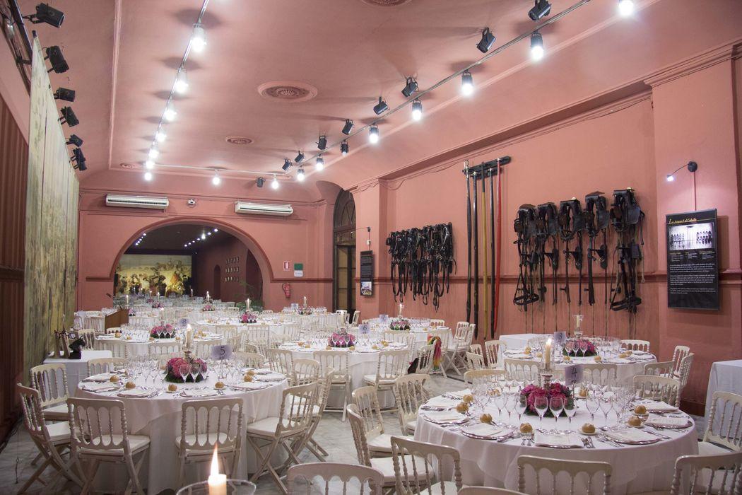 Banquete Boda Salón Rojo