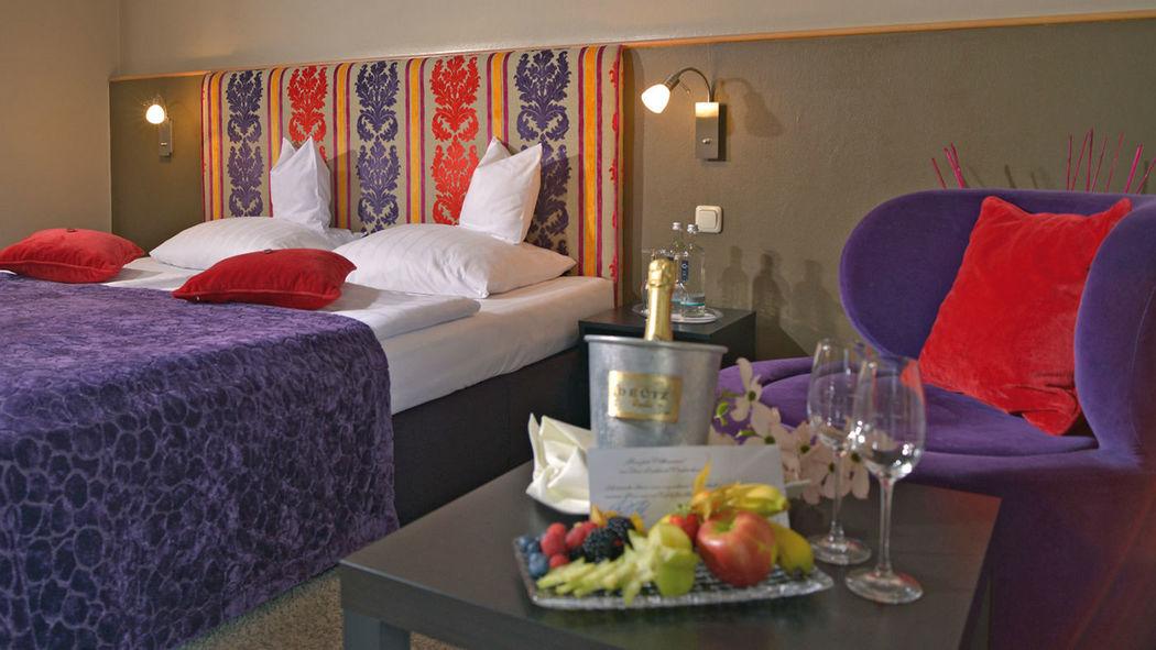Beispiel: Hotelzimmer, Foto: Parkhotel Weiskirchen.