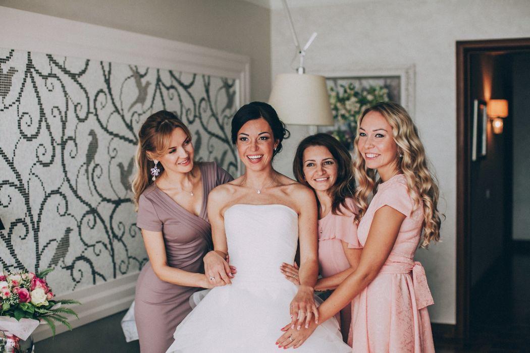 Подружки невесты. Свадебный фотограф Марина Назарова.