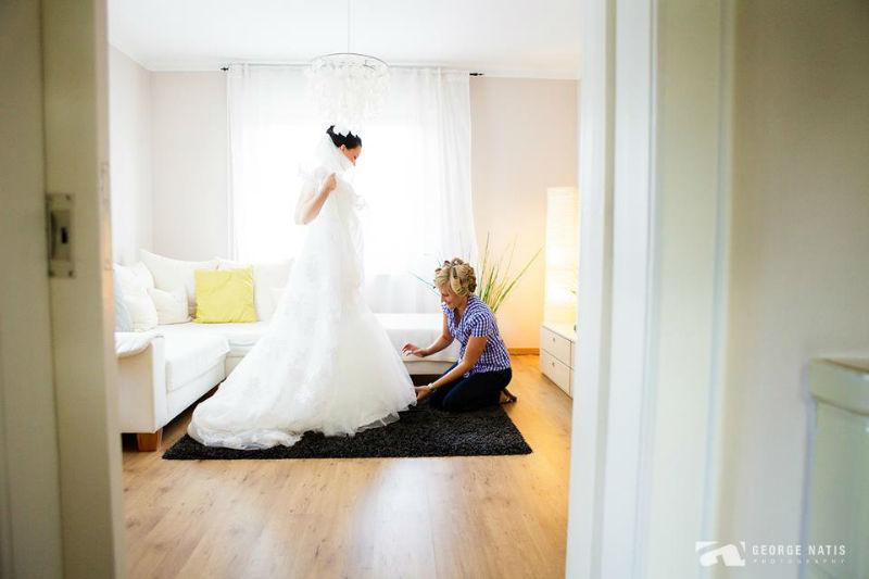 Beispiel: Fotos von den Vorbereitungen, Foto: George Natis Photography.