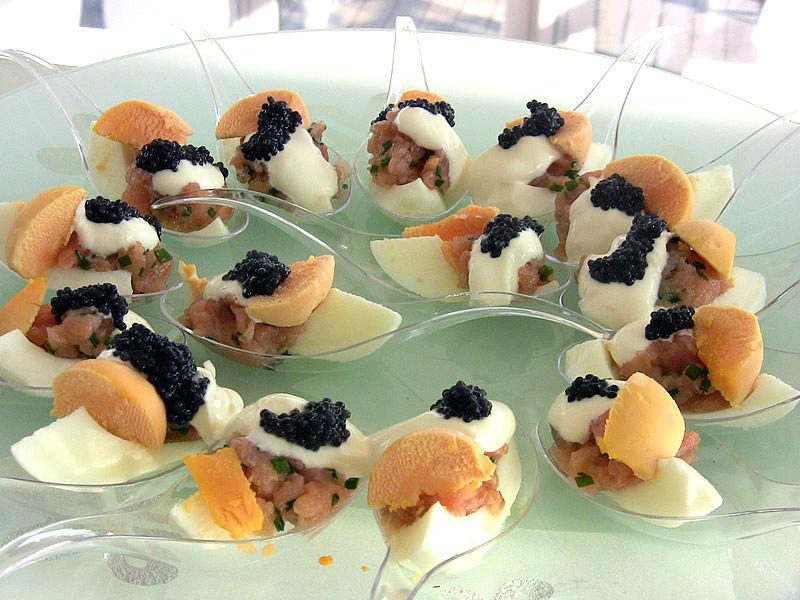 Beispiel: Kreative Küche, Foto: Restaurant Weinstein.