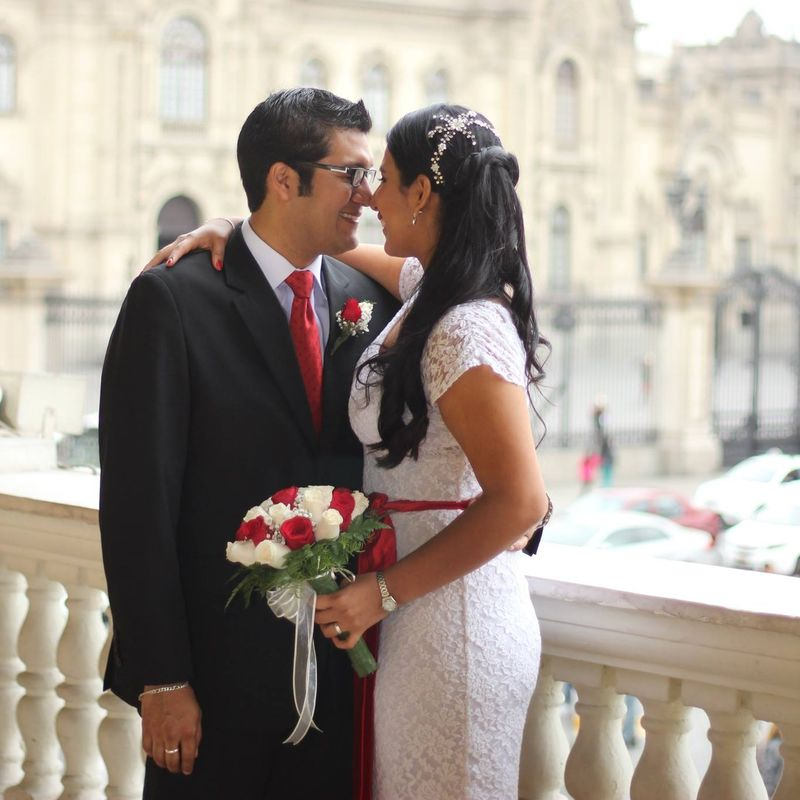 Novia Gianila Machado. Boda Civil.