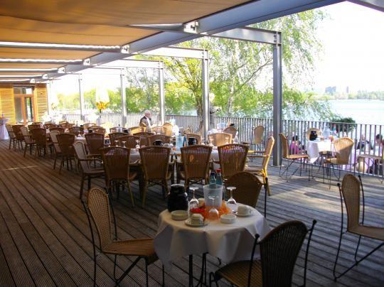 Beispiel: Terrasse, Foto: SeePavillon am Tegeler See.