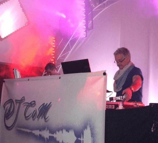 Beispiel: Auftritt, Foto: DJ Peter Wannagat.
