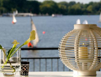 Beispiel: Tischdekoration, Foto: Alsterlounge.