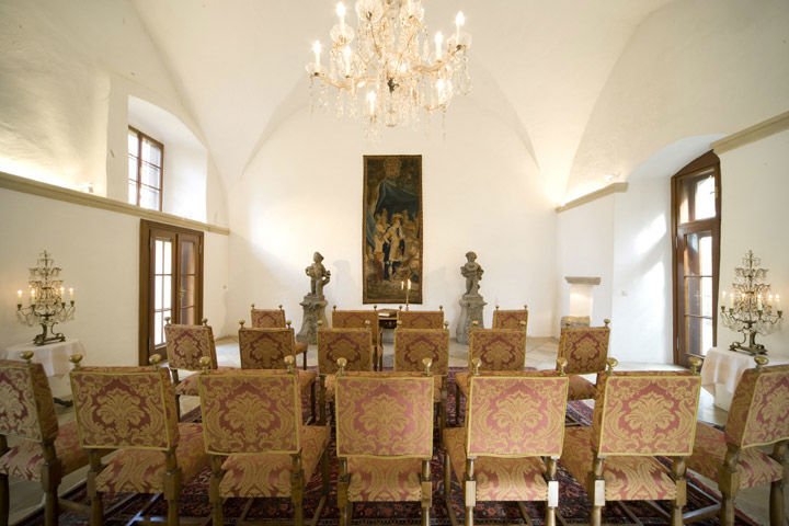 Beispiel: Standesamt, Foto: Schlosshotel Obermayerhofen.