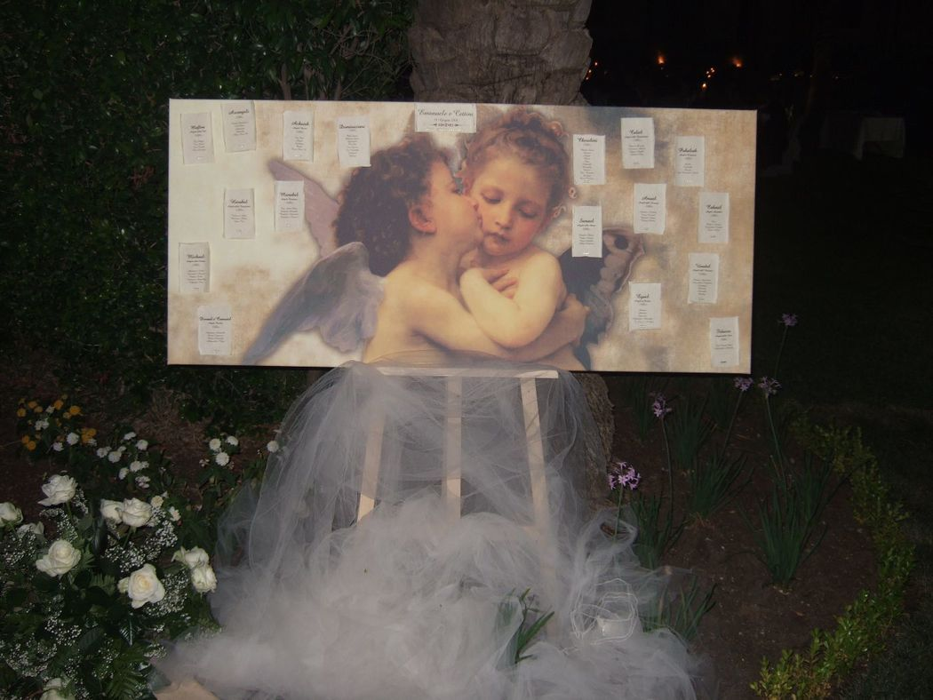 Wedding on the Moon - Tableau de mariage