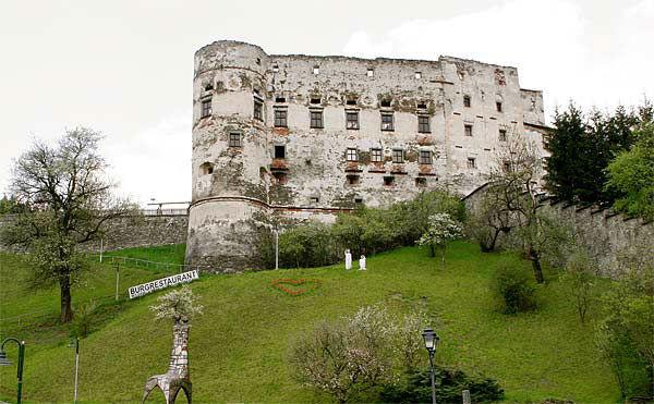 Beispiel: Außenansicht, Foto: Alte Burg Gmünd.