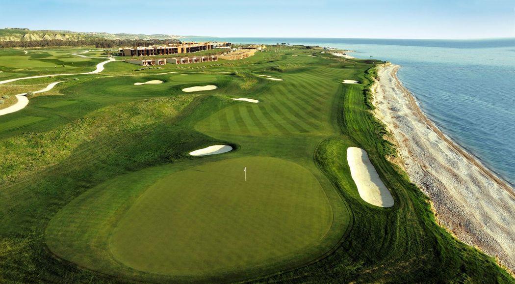 Verdura Resort, panoramic view with golf courses
