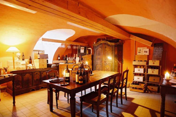 Beispiel: Weinkeller, Foto: Schloss Steinhöfel.