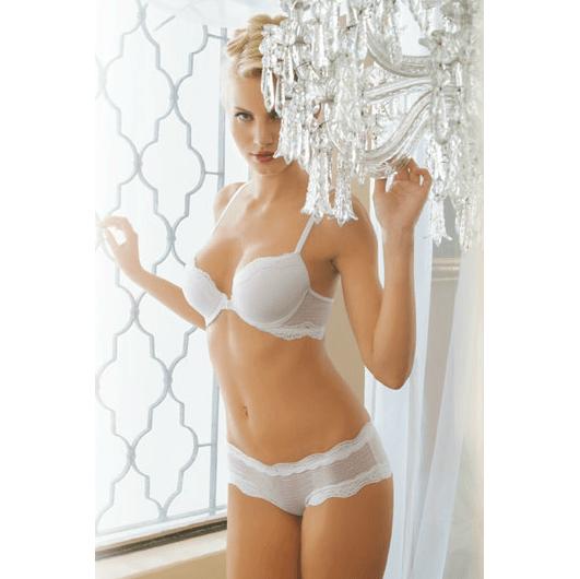 Conjunto blanco de novia
