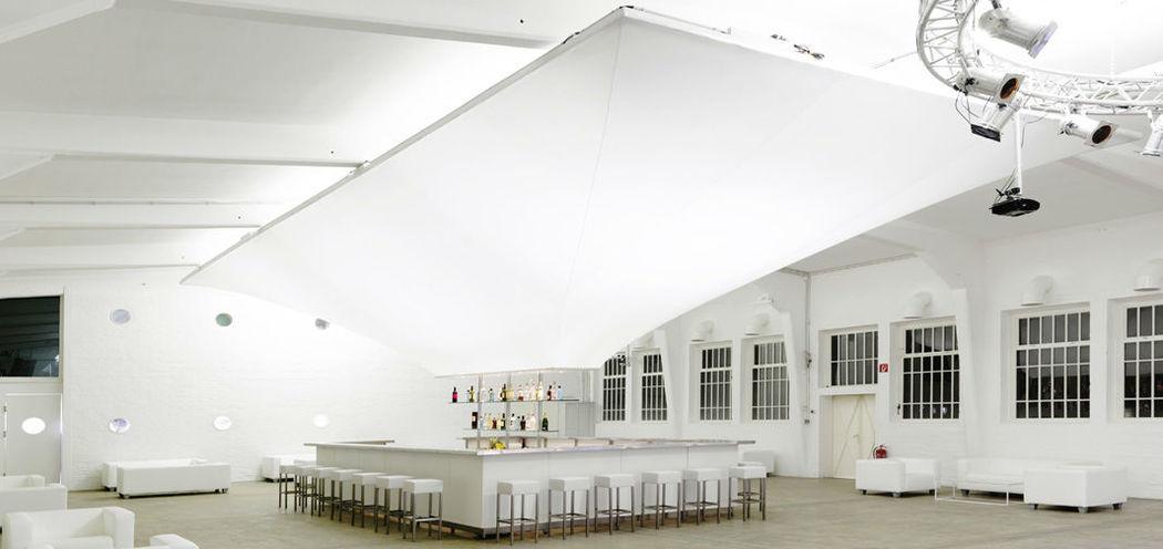 Beispiel: Hochzeitssaal, Foto: Nordlicht Events.
