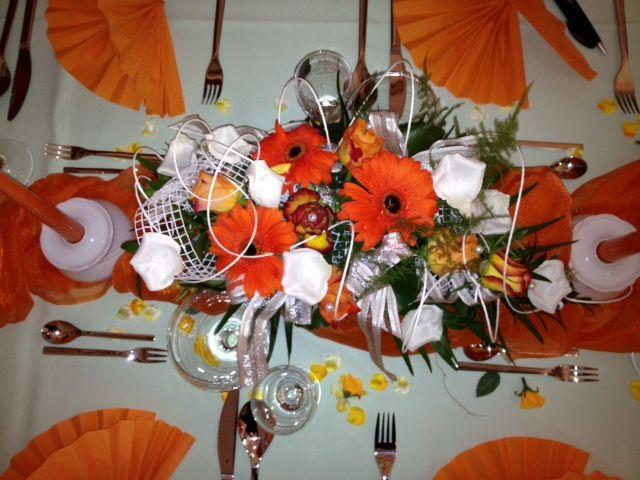 Beispiel: Tischdekoration, Foto: Restaurant Liebesquelle.