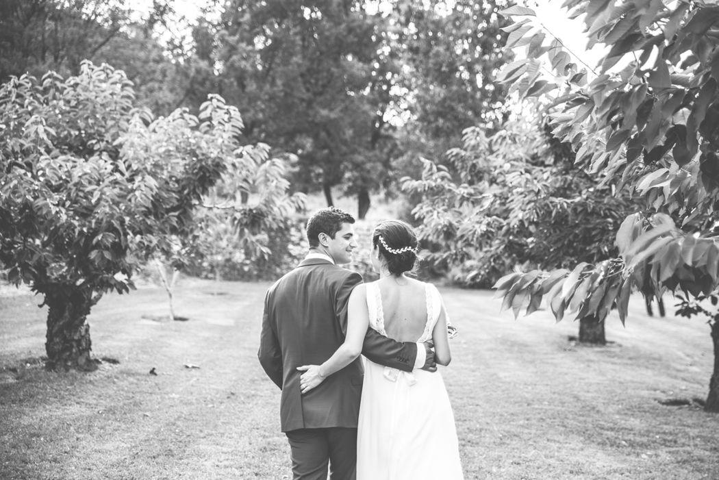 Reportage photo de mariage à l'abbaye de Saignon, dans le Vaucluse (PACA) - Brin de Photographie