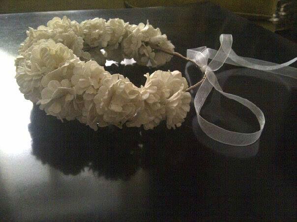 Corona Lilly Cantuc Tocados Precioso para novia