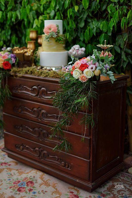 Estilo Vintage decoração | Foto: Cadeira Amarela