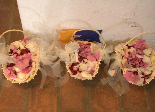 Beispiel: Streublumen, Foto: Blumeninsel.