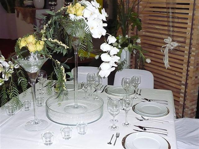 Beispiel: Tischdekoration, Foto: Paiser Catering.