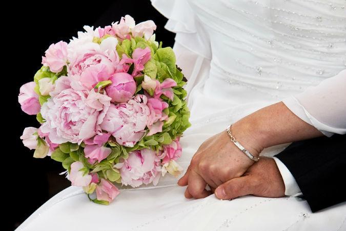 Beispiel: Blumensträuße für den schönsten Tag in Ihrem Leben, Foto: Marsano Blumen.