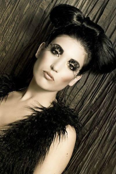 Beispiel: Make-up vom Visagisten, Foto: faceArts.