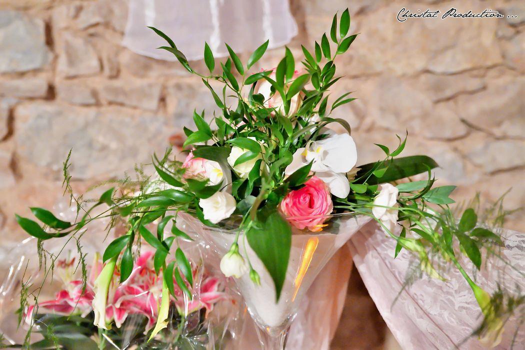 Mariage thème rose chic