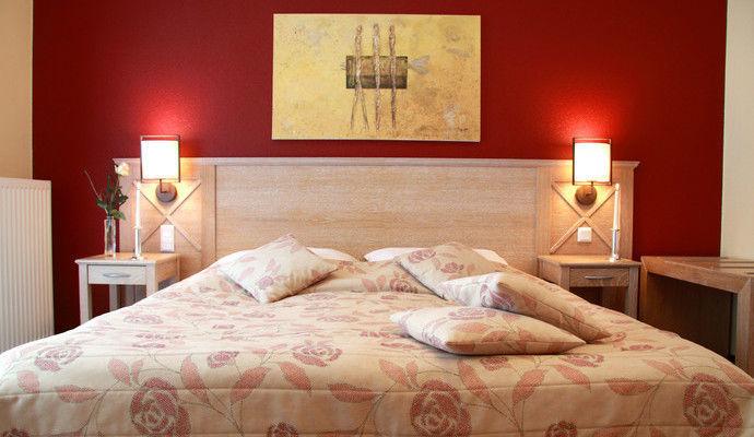Beispiel: Doppelzimmer, Foto: DreiMädelHaus.