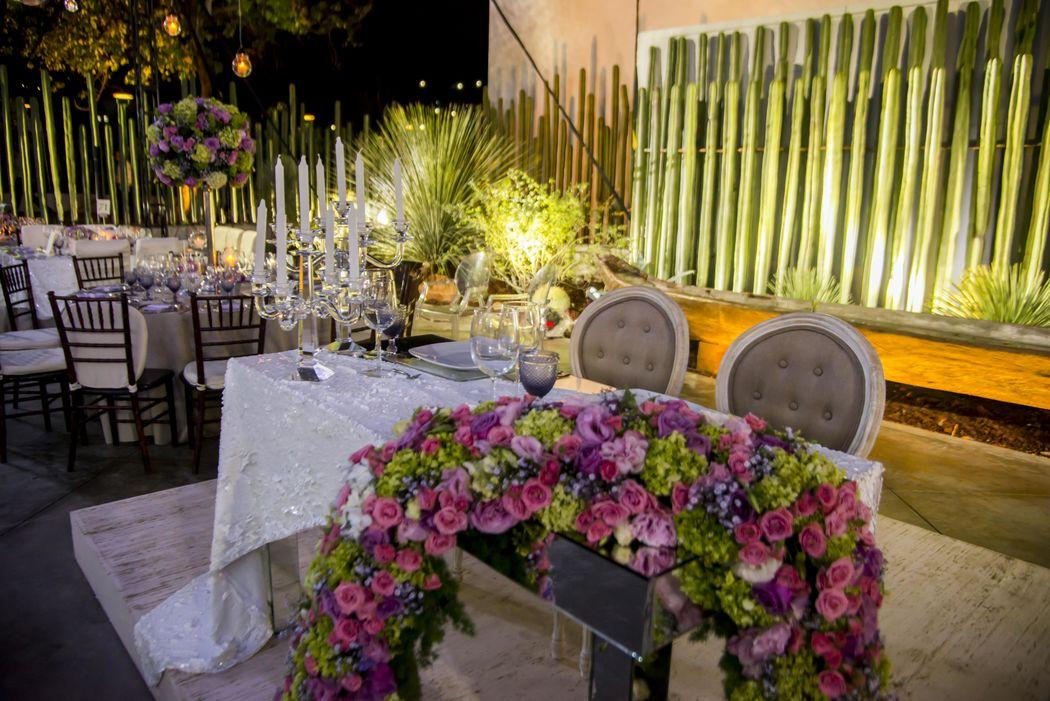 Mesa de novios - Casa Don Luis Jardín Boutique - Oaxaca