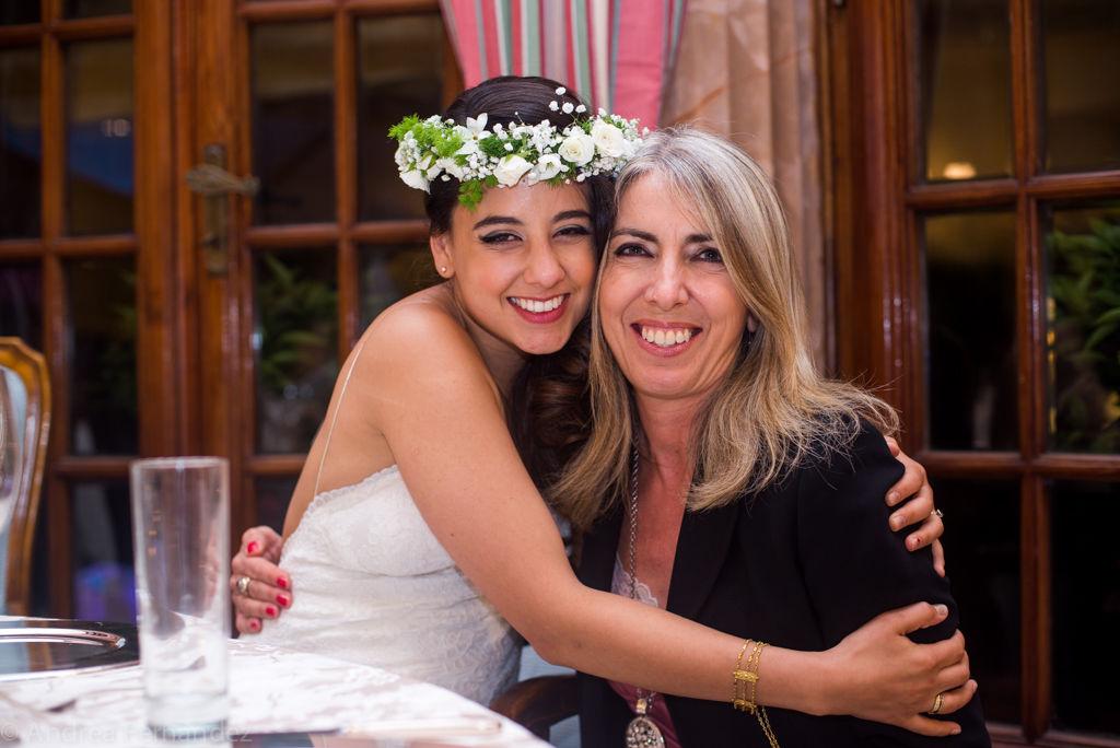 Happy bride and her Wedding Planner