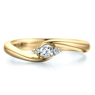 Verse Joaillerie | Alianças de Casamento, Anéis de Noivado Anel Solitário de Ouro - ENLACE