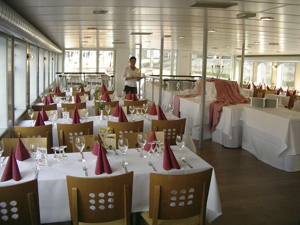 Beispiel: Schiff Oceana - Oberdeck, Foto: Hal över.