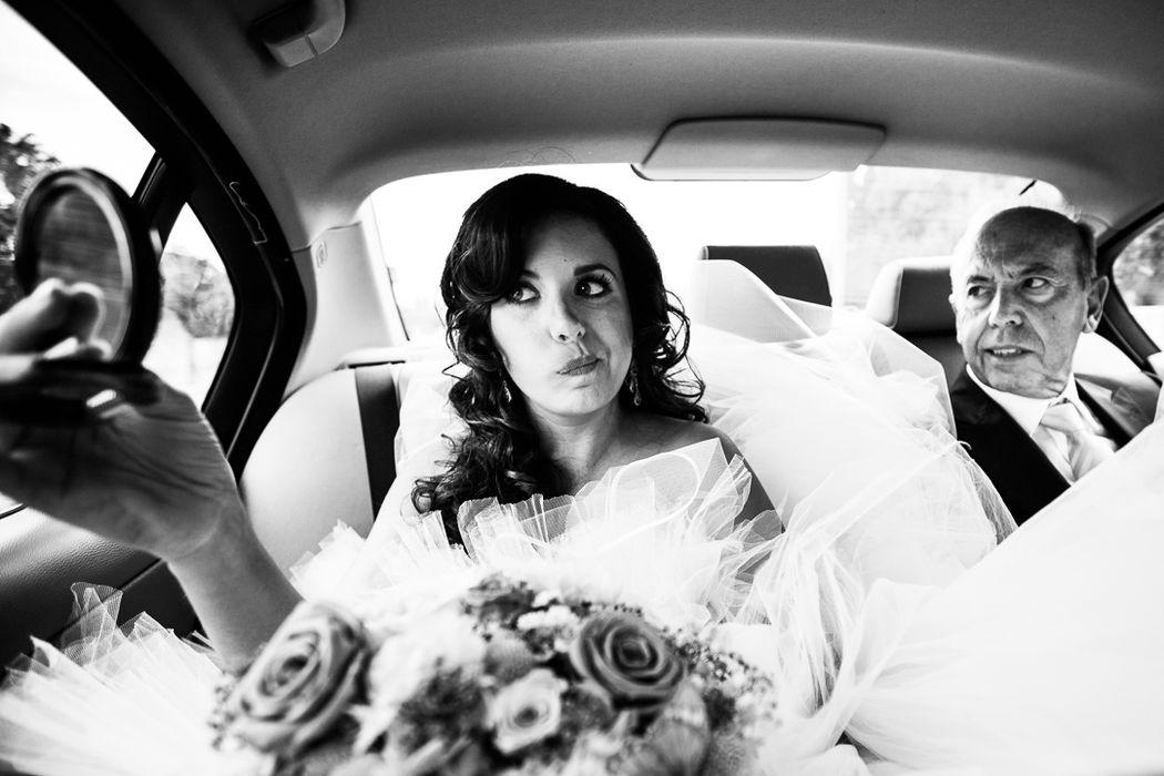 Marisol se dirige a su boda.