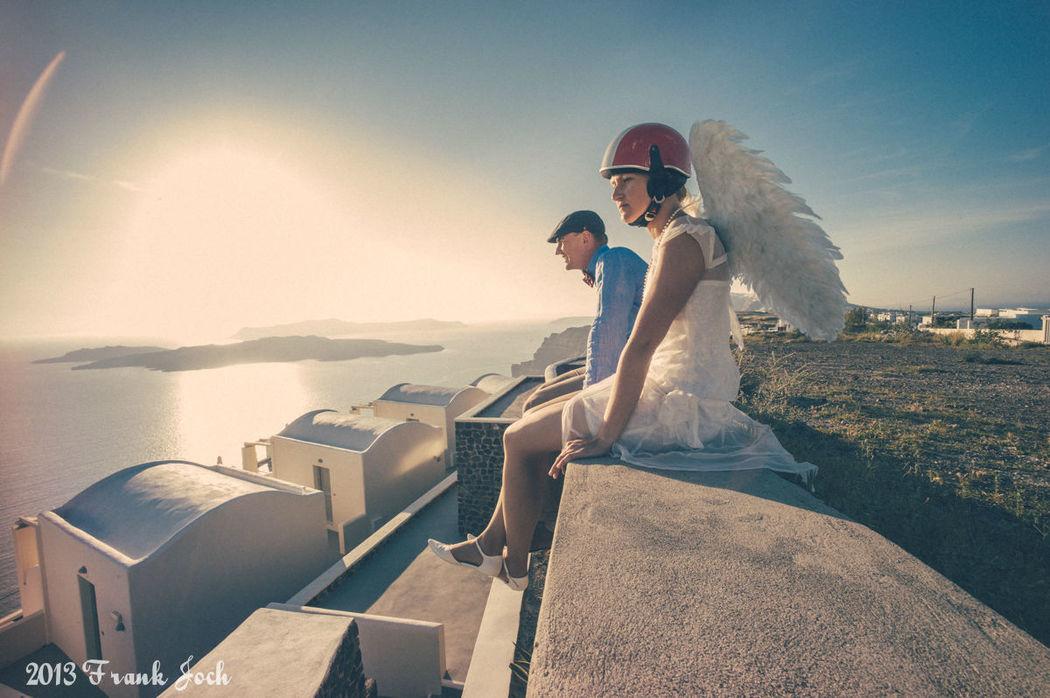 Hochzeitsreportage auf Santorini - Destination-Wedding