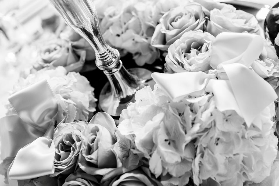 Beispiel: Kreative Dekorationen Ihrer Hochzeitsfeier, Foto: Luuniq.