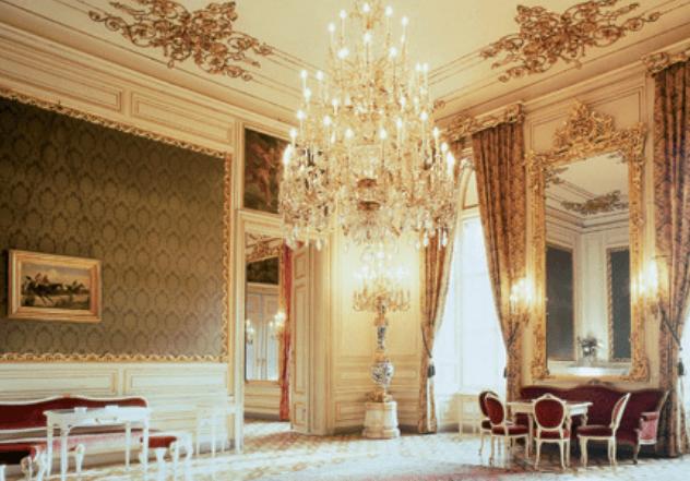 Beispiel: Festliches Ambiente, Foto: Palais Pallavicini.