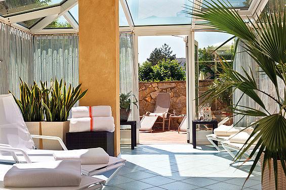 Beispiel: Ruheraum, Foto: Travel Charme Strandhotel Zinnowitz.