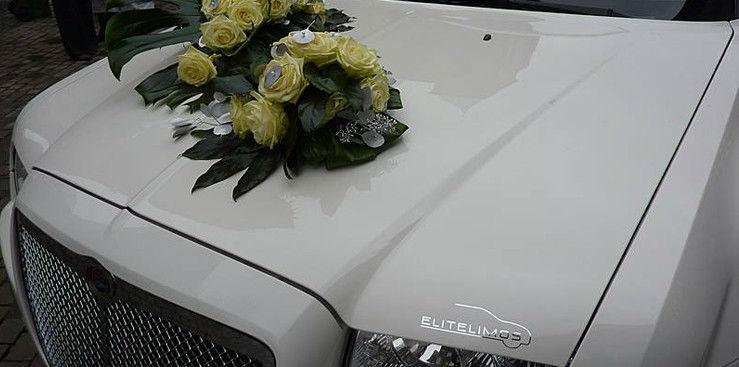 Beispiel: Blumenschmuck, Foto: EliteLimos.