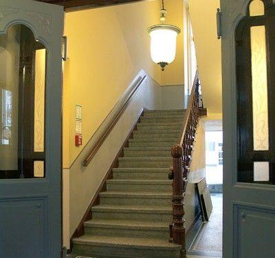 Beispiel: Treppenaufgang, Foto: AKZENT Hotel Am Goldenden Strauss.