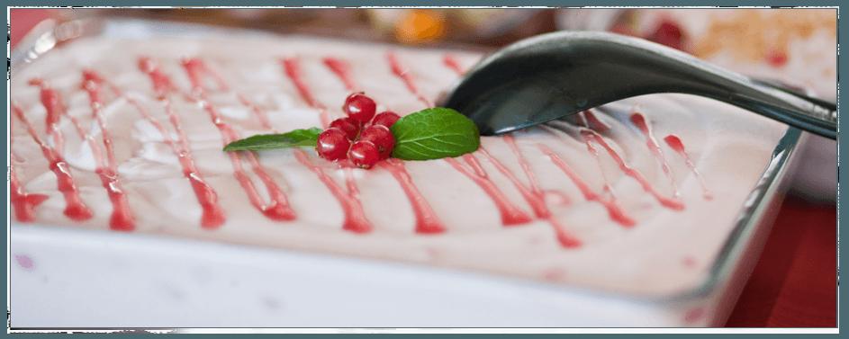 Beispiel: Kulinarisches / Dessert, Foto: Gasthaus Foerdeblick.