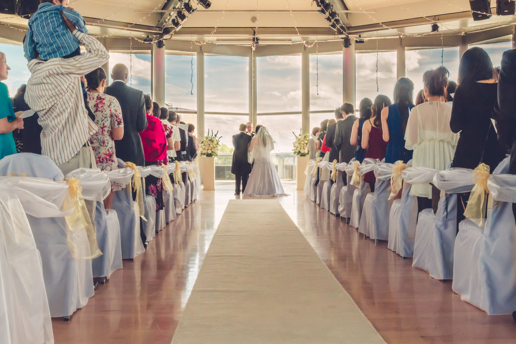 Say your vows whilst surrounded by panoramic views