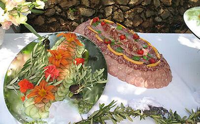 La Bastide du Calalou - buffet