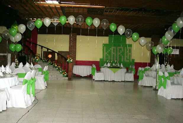 Salón de las Rosas ubicado en el DF