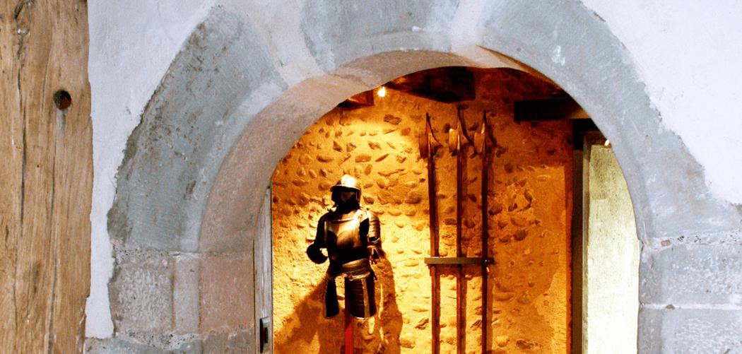 Beispiel: Eingangsbereich, Foto: Burg Hohenklingen.