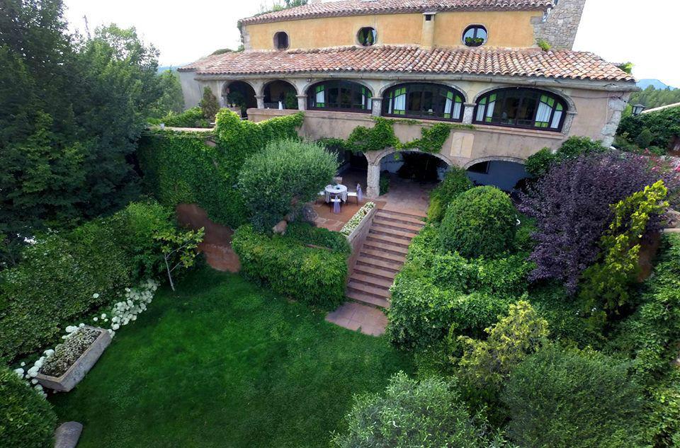 Jardin privado casa Espigol